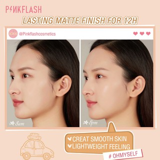 Pinkflash Ohmyself Foundation Matte Tahan Lama Untuk Semua Hari 5