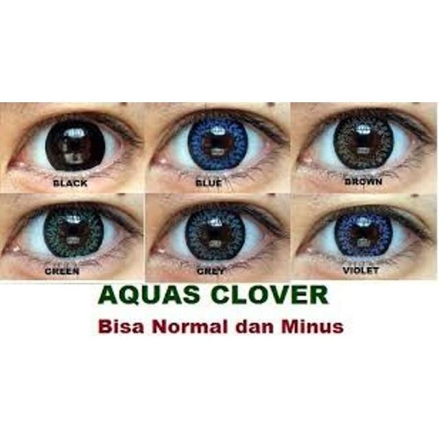 [NEW] Softlens Aquas Clover / Soft Lens aquas clover Color DEPKES Australia