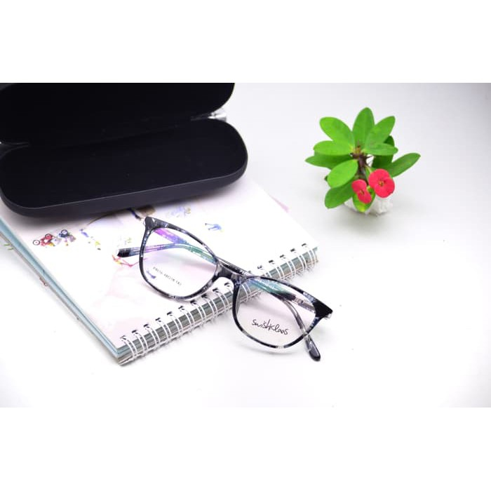 kacamata minus - frame kacamata pria - kacamata SWISHKLAAS P8016 keren