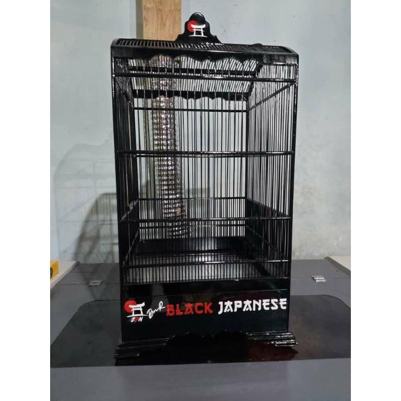 khosan/sangkar cendet BnR black japanese 3D