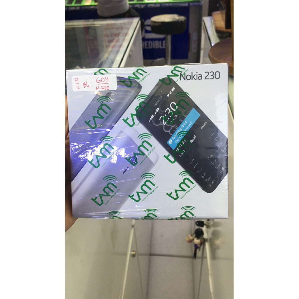 Nokia 230 Dual Sim New Garansi Resmi Tam Shopee Indonesia Lumia 435