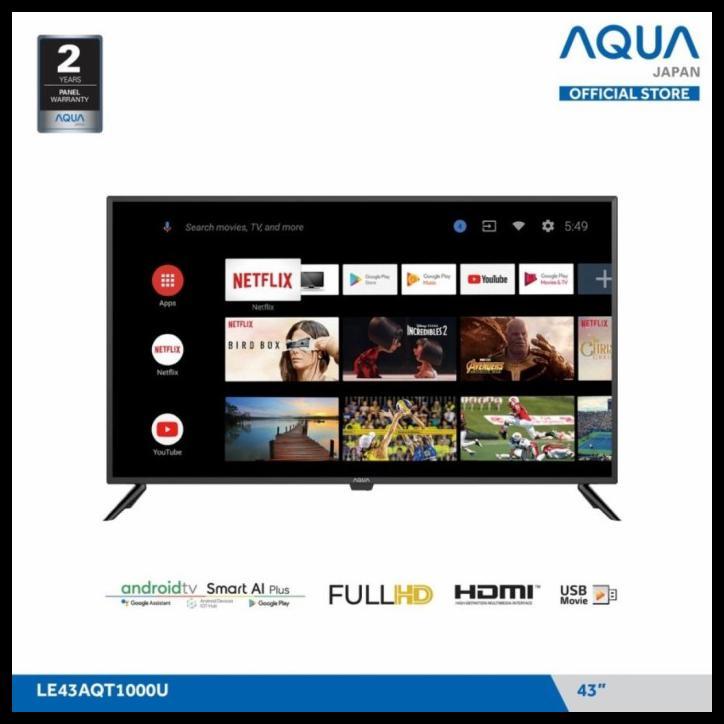 Led Tv Aqua 43 Inch 43Inch Le43Aqt1000U Le 43Aqt1000 U Fhd Android