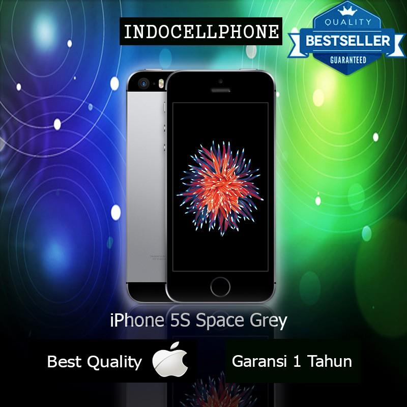 iPhone 5S 16GB Space Grey Garansi Distributor 1 Tahun  370867c97f