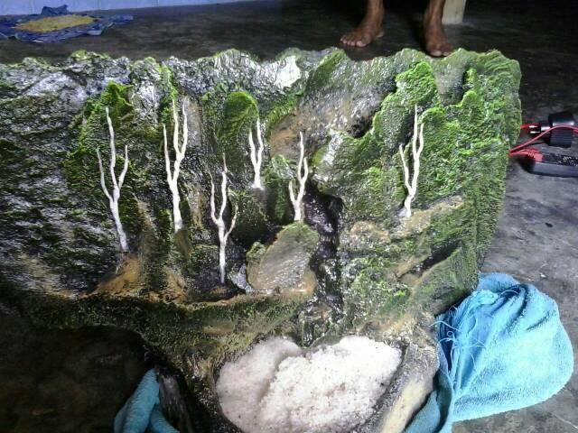 Miniatur Tebing Air Terjun Aquascape Shopee Indonesia