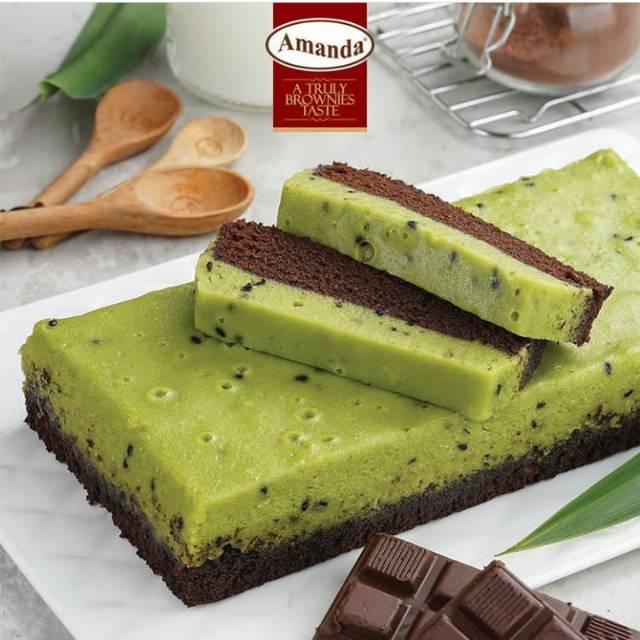 Srikaya Pandan, Amanda Brownies, Brownies murah