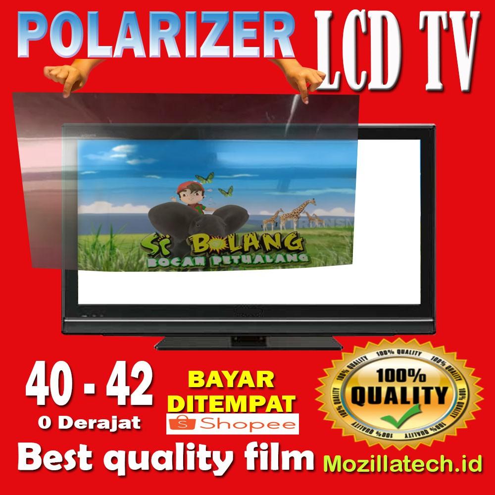 POLARIS - POLARIZER TV LCD 40 - 42 INCH  SHARP LG SAMSUNG TOSHIBA PANASONIC POLYTRON DLL 0 DERAJAT