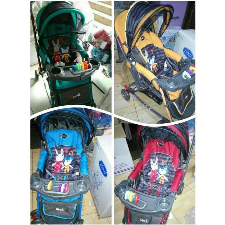 Roda Khusus Gojek Baby Stroller Kereta Dorong Bayi Pliko 268 Grande Stroler Boston Bekasi Bawa2 Shopee Indonesia