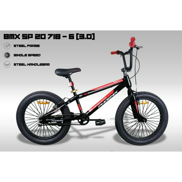 Sepeda Anak Bmx Phoenix 20 Inch Tipe Sp 718 6 3 0 Shopee Indonesia