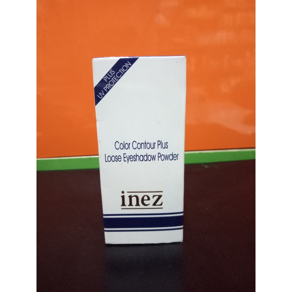 Inez Color Contour Plus Loose Eyeshadow Powder Sparkling Silver Cpp Eye Shadow Shopee Indonesia