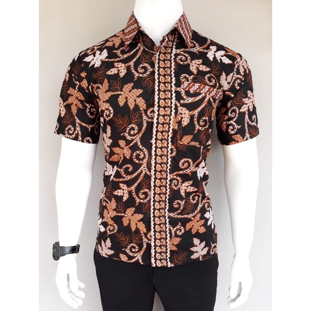 Dt Collection Kemeja Pria Batik Modern Lengan Pendek - Daftar Harga ... 732786642a