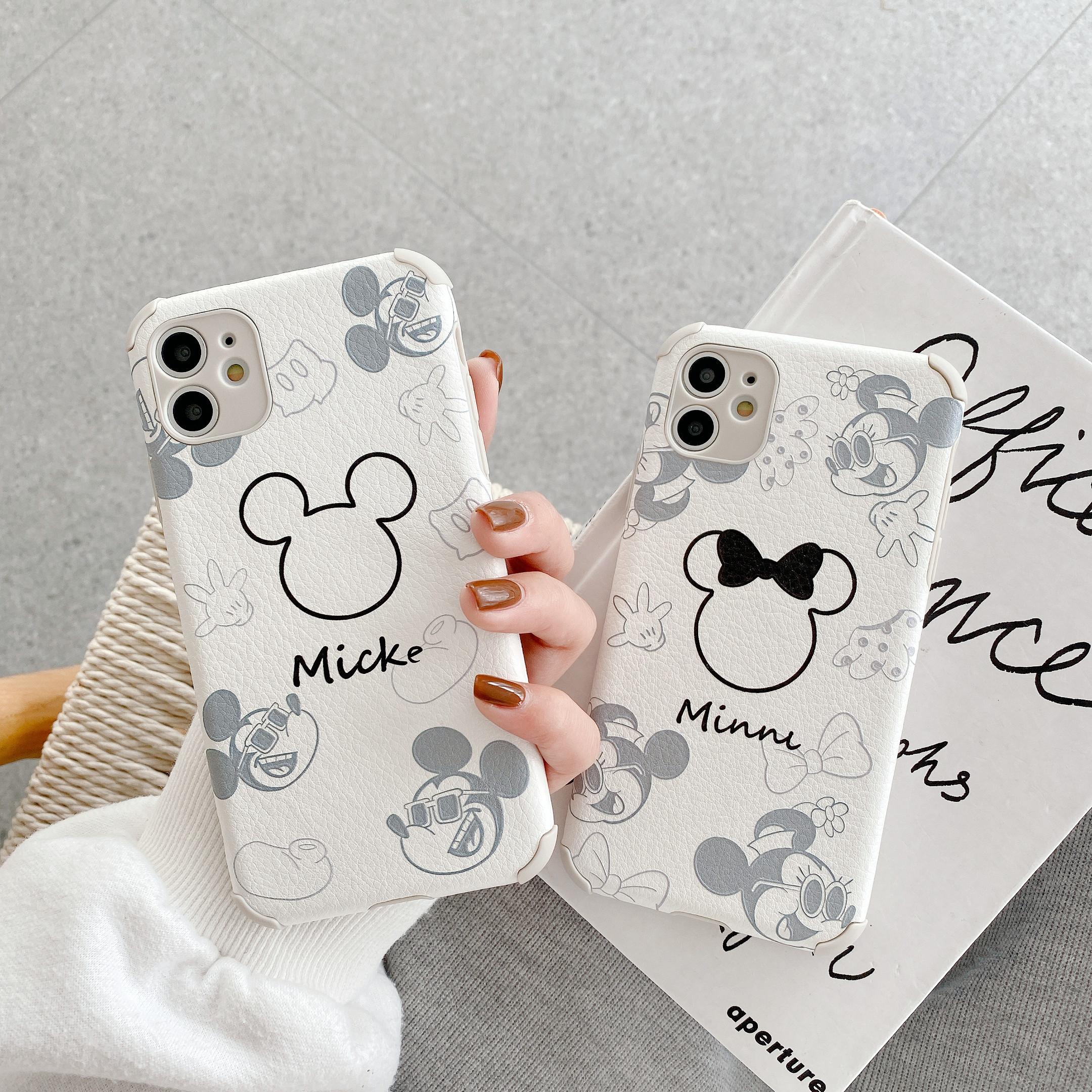 Case Pelindung Lensa Anti Jatuh Desain Mickey Untuk Iphone ...