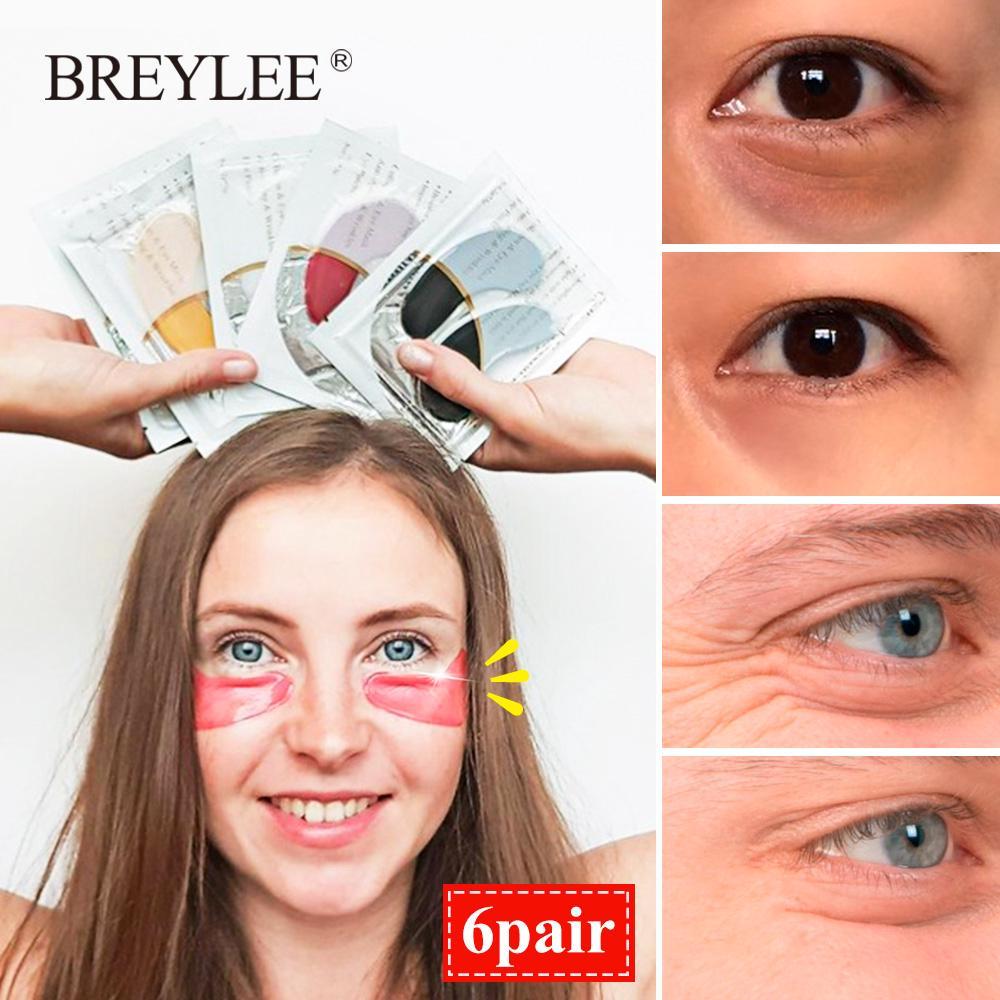 Breylee Masker Mata Kristal Kolagen Emas 24K thumbnail