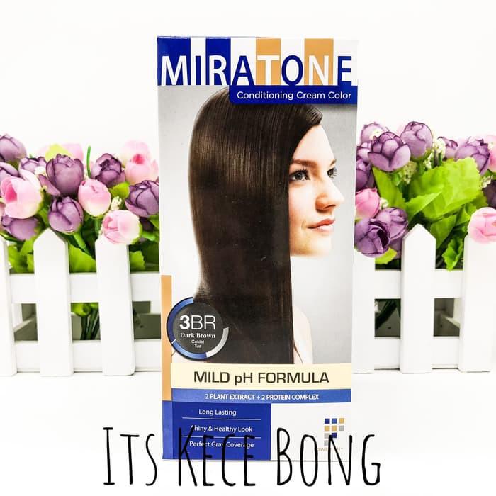 Miratone Conditioning Cream Color TANPA APPLICATOR (3BR) MISS KECE ... baad84f981