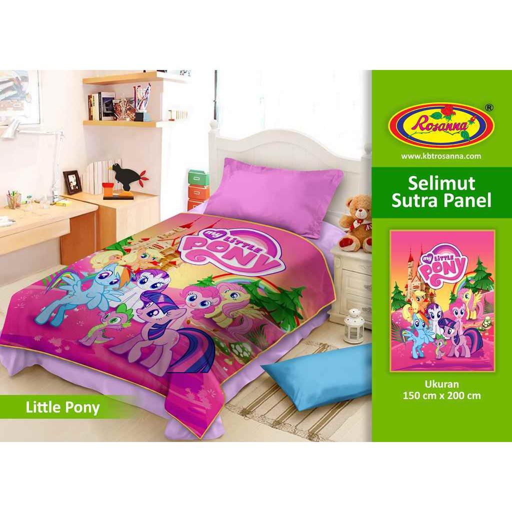 Selimut Vito Sutra Panel 150x200 My Little Pony Shopee Indonesia Kids 100x140 Submarine