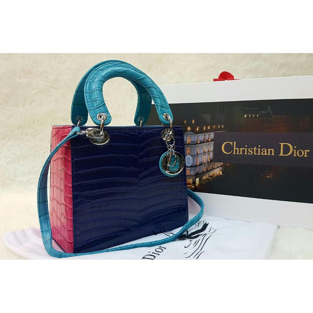 Up To 57 Discount Keep Branded Here Tas Wanita Hand Bag Lv Alma Mini Lady Dior Croco 3 Tone Semi Premium