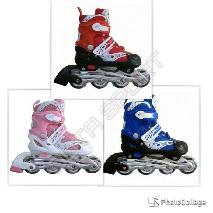 Sepatu Roda Inline Roller Skate COUGAR MS835L - Black Wht  7a7de0b07f