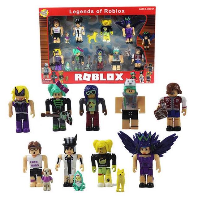 Christmas Roblox Id.9pcs Set Roblox Figures Toy 7cm Pvc Game Roblox Toys Girls Christmas Gift