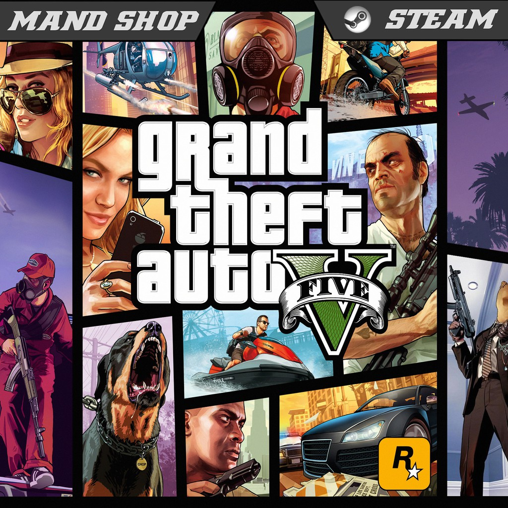 Gta V Grand Theft Auto V Steam Pc Games Online Shopee Indonesia