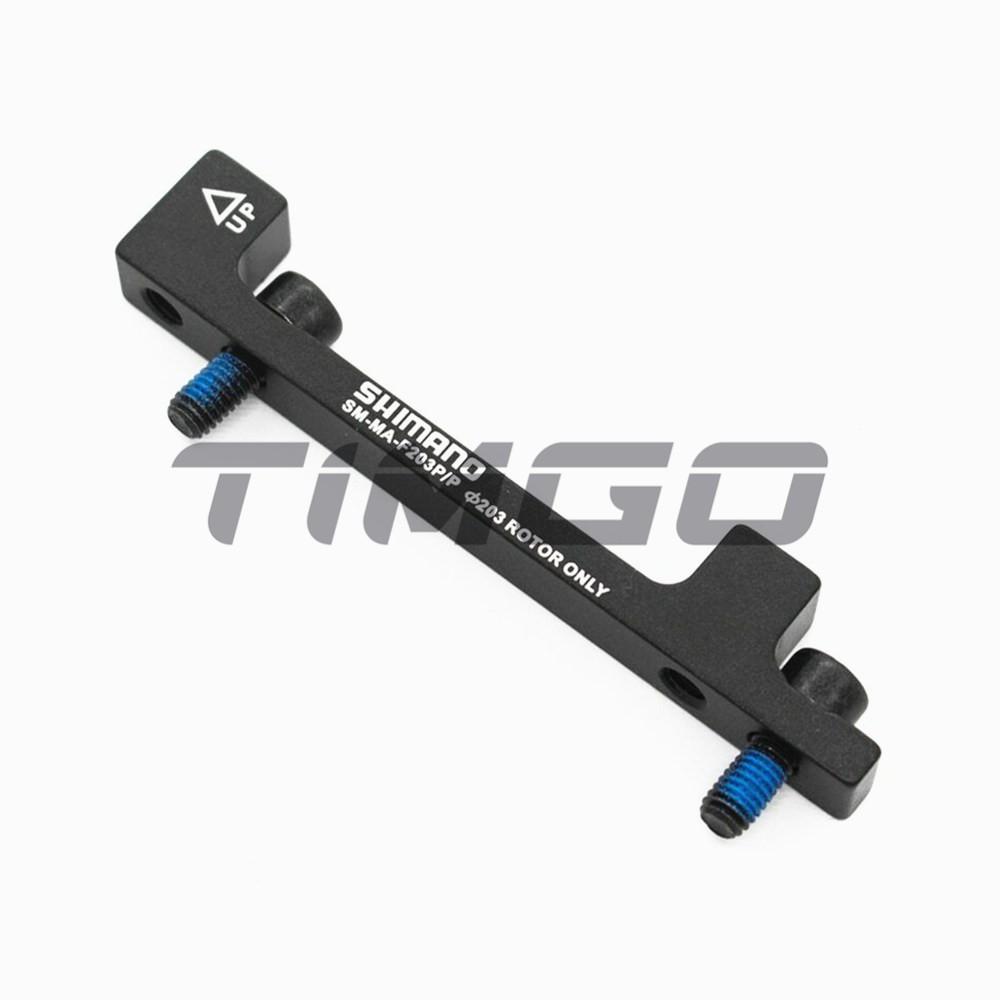 Shimano Mount Adapter Disc Brake Caliper SM MA F203 P//P Disc Brake Adapter Black
