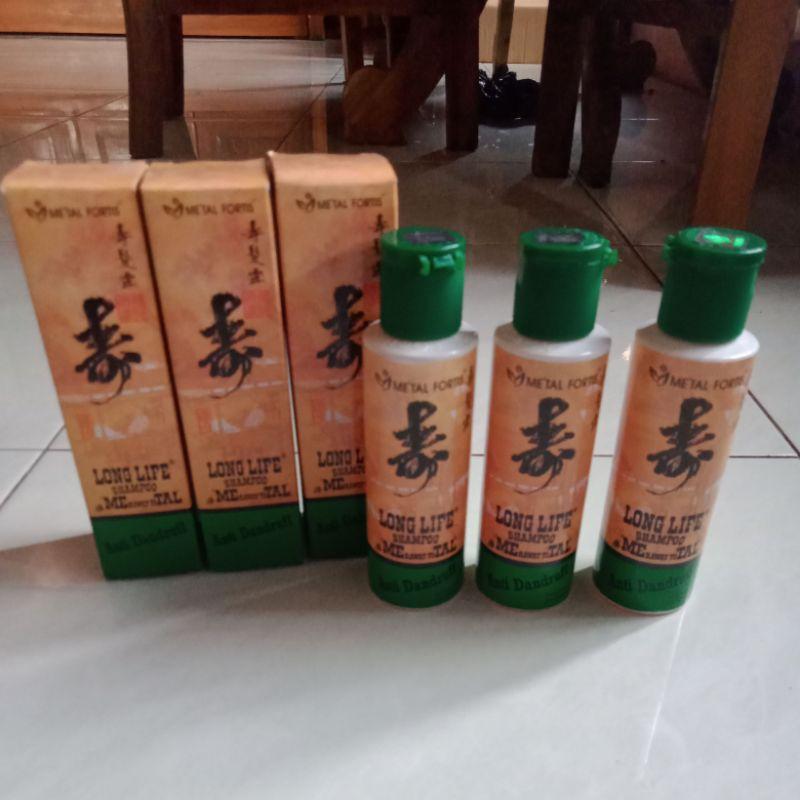 Shampoo Metal Fortis Hijau Anti Dandruff Pemanjang Rambut Shopee Indonesia