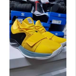 b16b1cb128d Sepatu Basket Nike Paul George 2 Yellow Black Premium Original ...