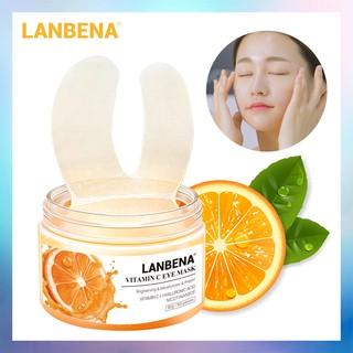 [Bayar Di Tempat]LANBENA Vitamin C Eye Masks 50pcs 2