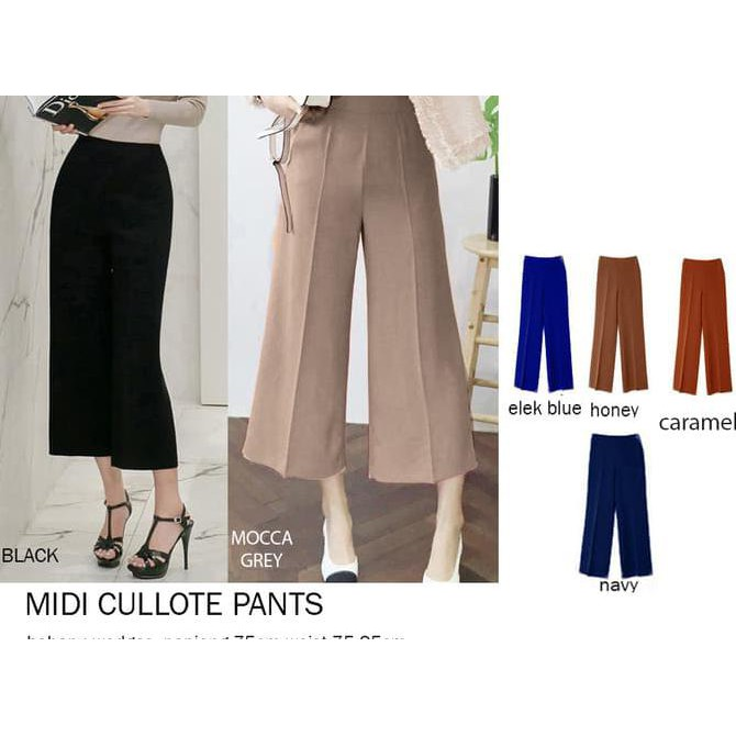 Celana Batik Kulot Panjang Wanita Jumbo Long Pant Honey - Spec dan ... -