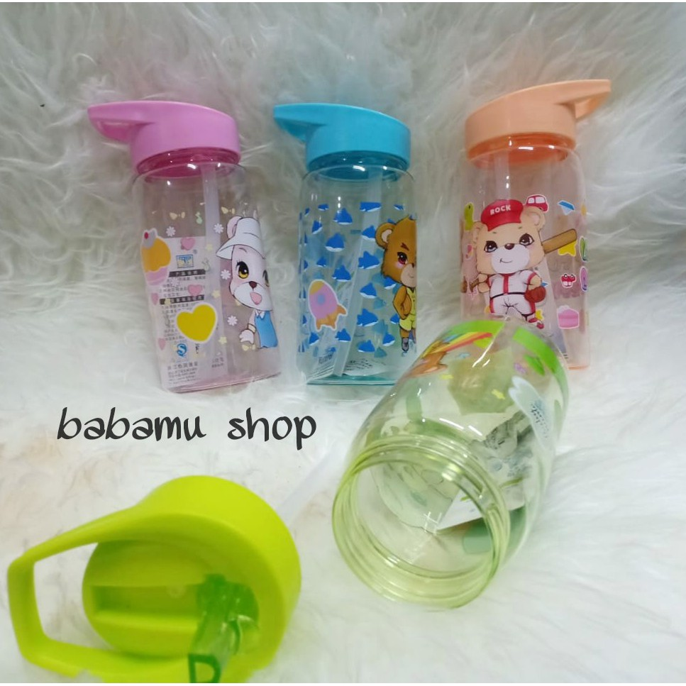 R3C235 Botol Air Minum Anak Lucu 400 Ml - Botol Minum H-7230 | Shopee Indonesia