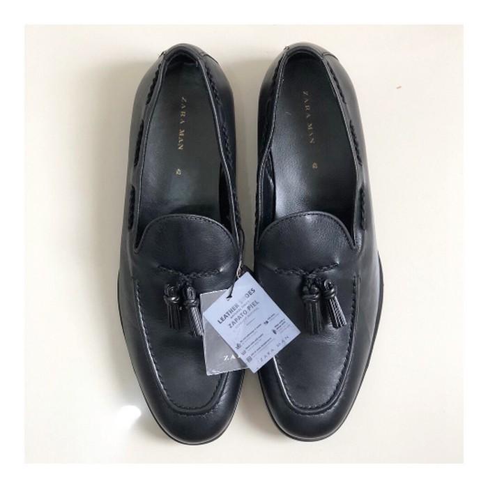 Promosi Sepatu Pria Loafer Zara Original Not Pedro Lacoste Nike