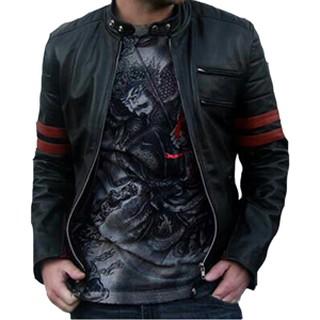 jaket SEMI kulit xman hitam