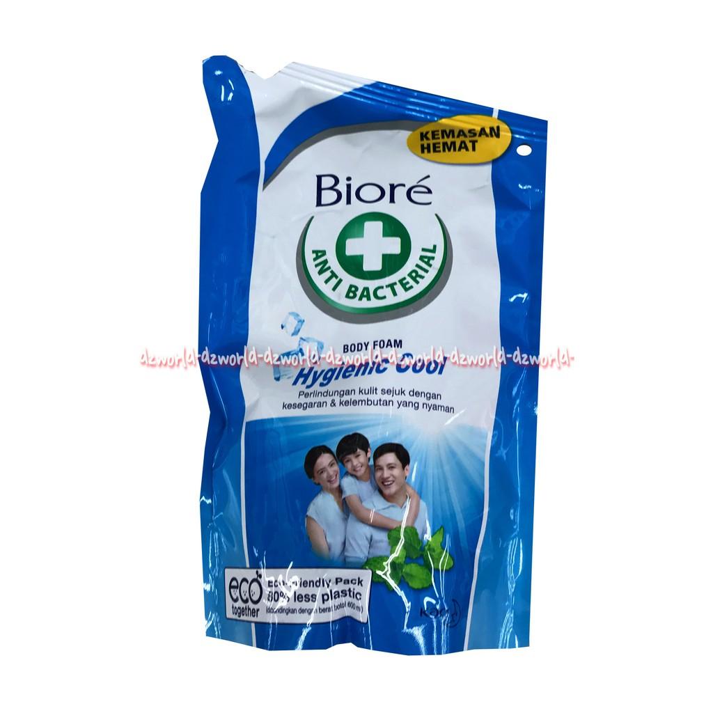 Biore Lively Refresh Body Foam Sabun Mandi Cair Kemasan Refill 250ml Mens Refreshing Cool Pouch 450ml Shopee Indonesia