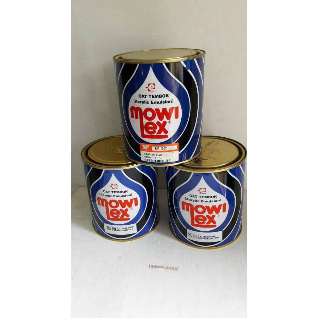 Best Seller Cat Tembok Taman Mowilex U002fcat Emulsion Mowilex 1 Ltr K M B Shopee Indonesia Harga cat mowilex 1 kg