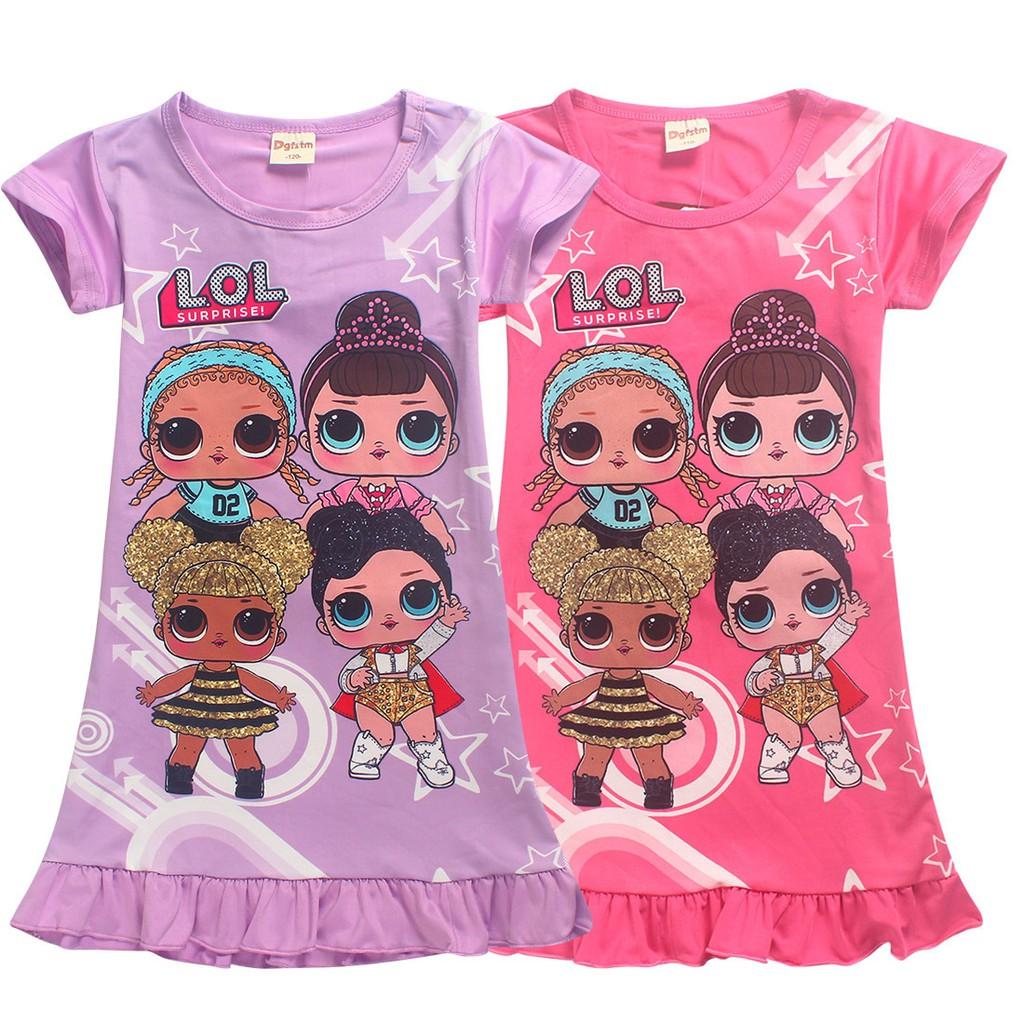 Bayar di Tempat COD Kaos T-Shirt Model Kartun LOL Surprise 2d0a3b1c96