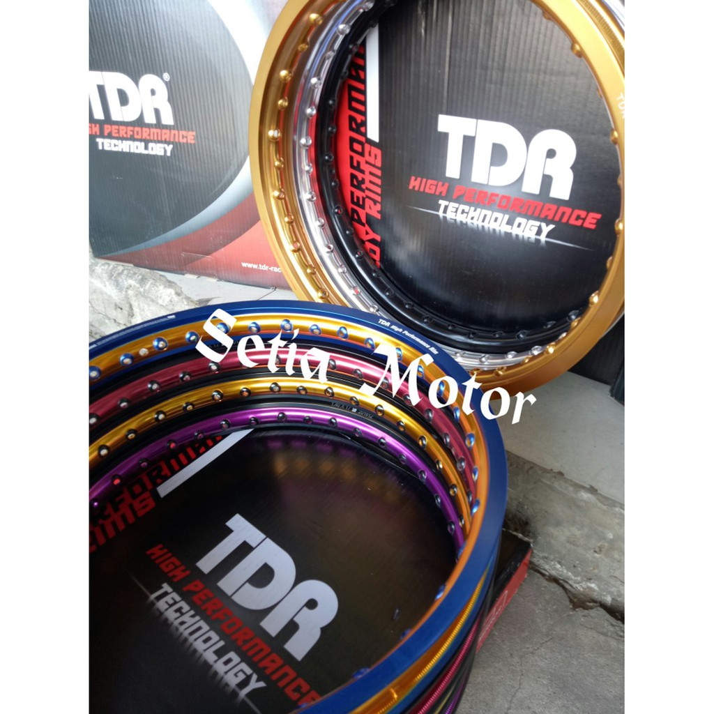 Fast Sale Velg Rossi Wm Lebar 140 Ring 17 1set 2pcs Shopee Indonesia