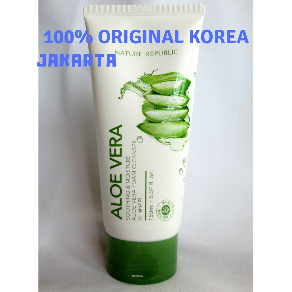 Promo Belanja Jualnaturerepublicaloevera Online Agustus 2018 Kosmetik Nature Republik Ori Korea Shopee Indonesia