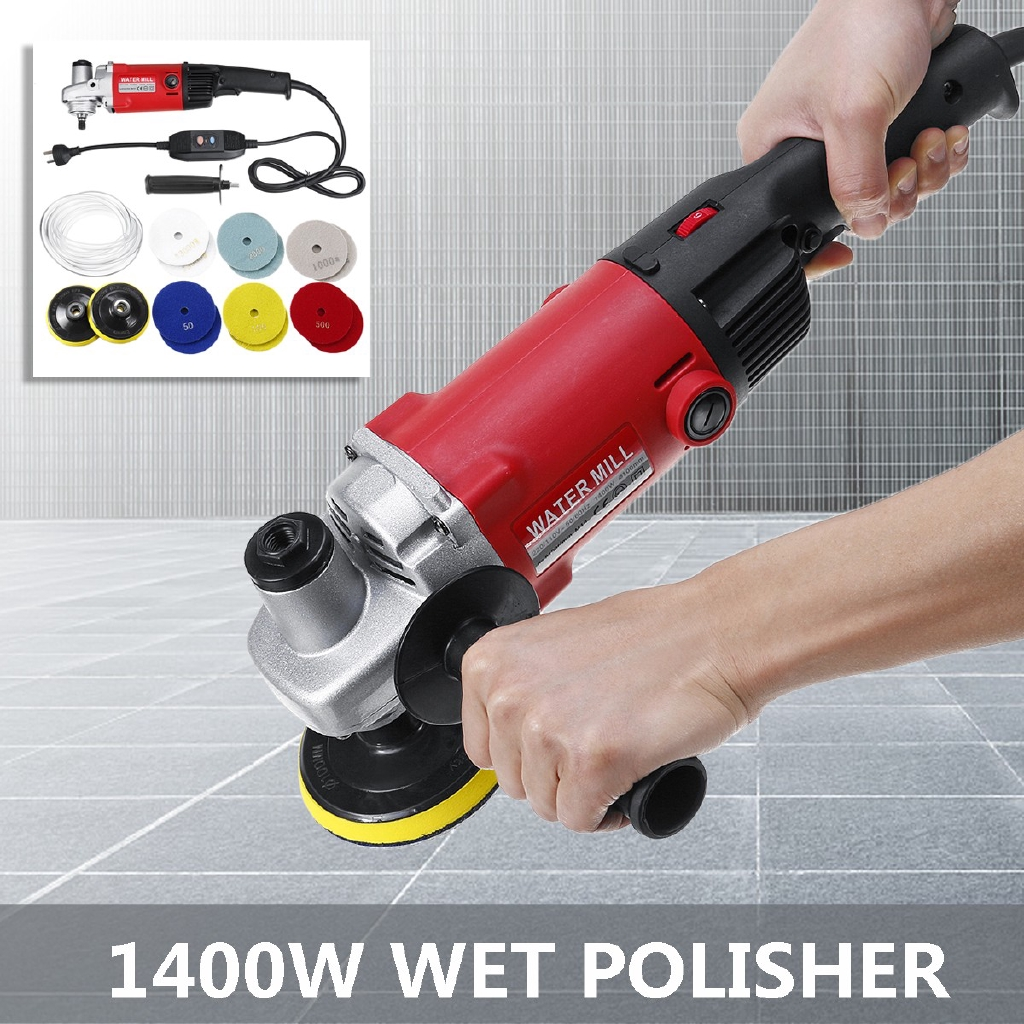 Variable Speed Stone Wet Polisher Grinder Polishing Cut Granite Concrete Marble