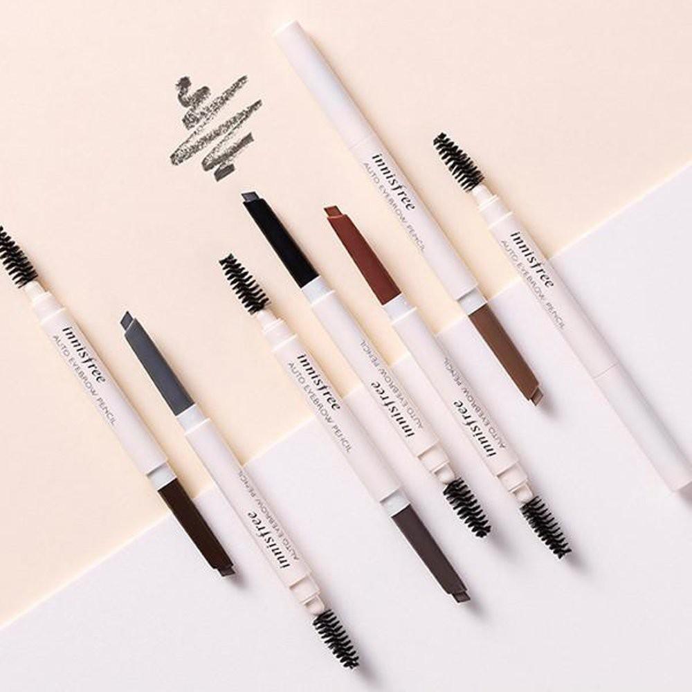 Original 100 Innisfree Auto Eyebrow Pencil Pensil Alis Eye Brow Viva Asli Korea Murah Shopee Indonesia