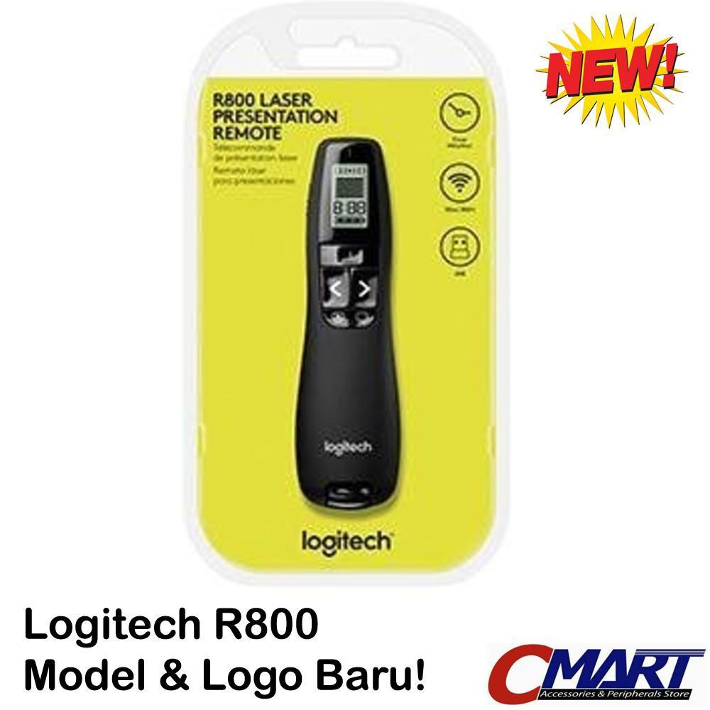 Promo Logitech R800 Professional Presenter Brilliant Green Laser Pointer Pp1000 Pp 1000 Limited Shopee Indonesia