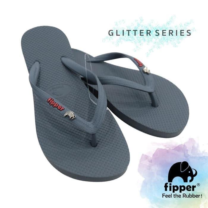 b2bc009c2ae7 Sandal Jepit   Sendal Fipper Slick in Maroon Grey -