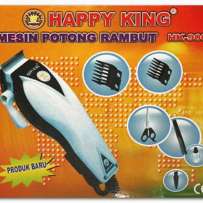 Alat Cukur Potong Pangkas Rambut Happy King Barber Hair Clipper - Merah  bb92954fa5