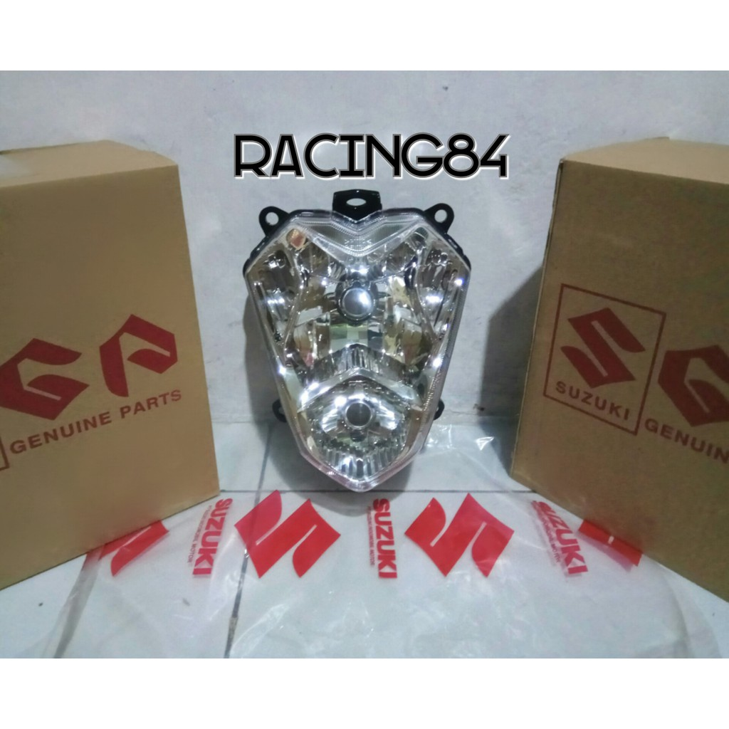 Batok Original Satria Fu Old Lama Ckd Cbu Full Set Headlamp Kepala Kabel Gas Hiu Lumba Ori Sgp Depan Shopee Indonesia