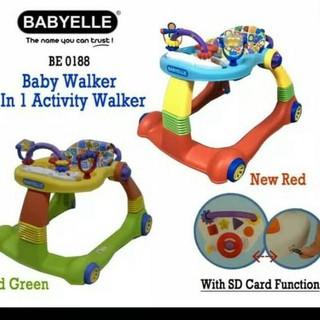 Harga TERMURAAH.. Baby Walker Babyelle 0188 2in1 Alat ...