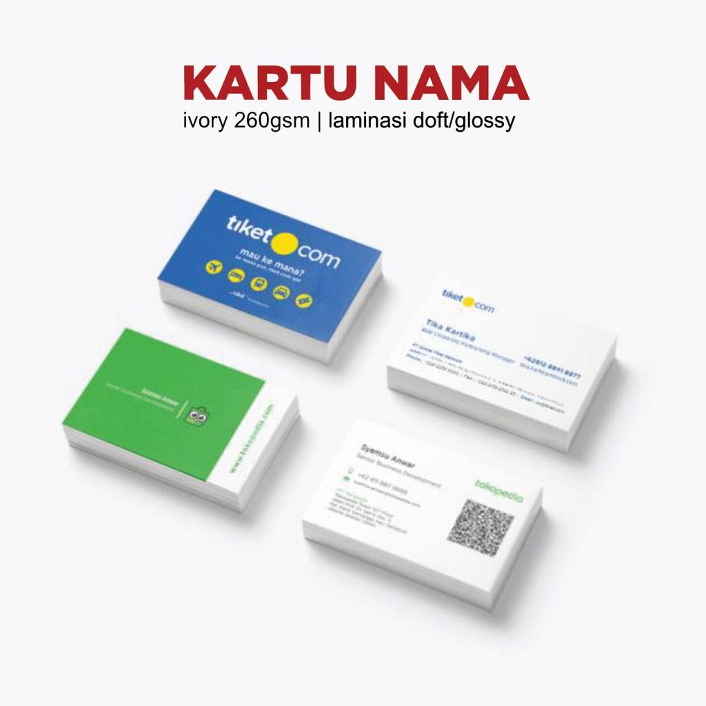 cetak kartu nama berkualitas  kartu nama  tanda pengenal