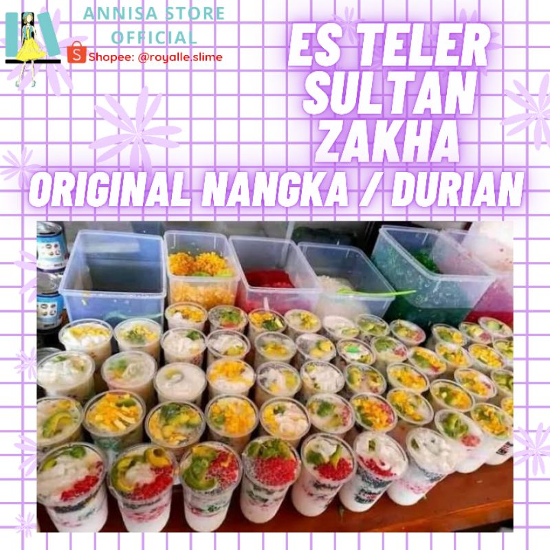 Es Teler Sultan Zekha Original Nangka dan Durian / Es Teller