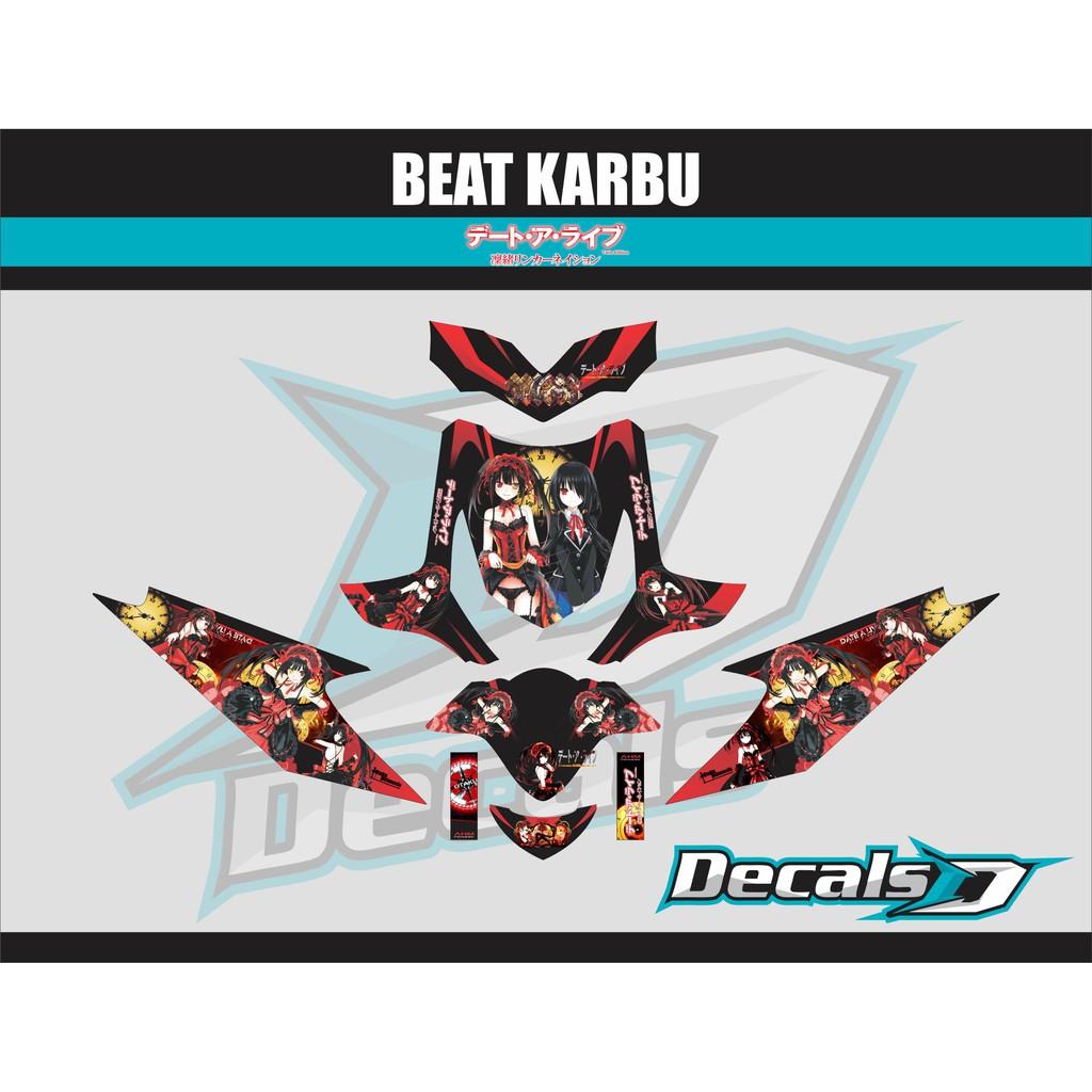 Sticker anime decal motor honda all new beat kaneki tokyo ghoul shopee indonesia