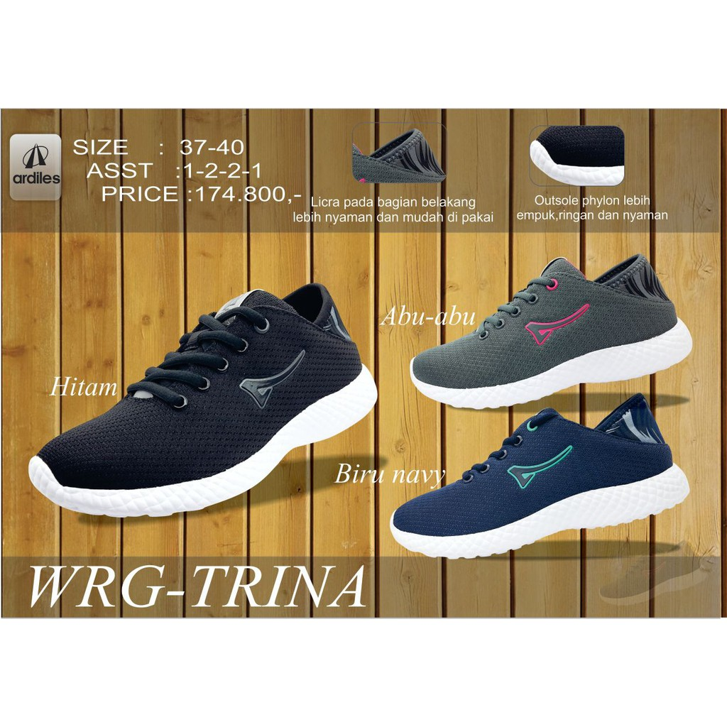 Ardiles Eldra Shayana 100ori Sepatu Olahraga Women Kets Ringan Men Kolyma Running Shoes Hitam 43 Modis Artis Ap Carvil Shopee Indonesia