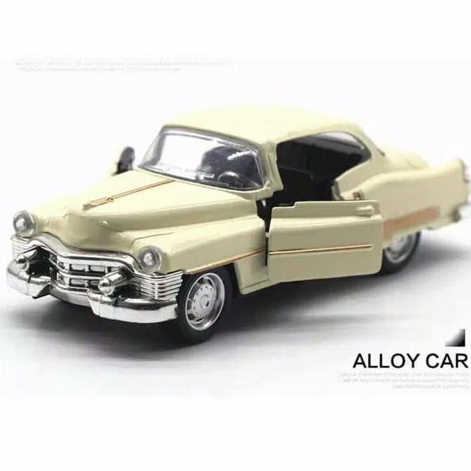 Langka Diecast Mobil Cadillac Retro Vintage Car Klasik Miniatur Mobil Classic Hitam Shopee Indonesia