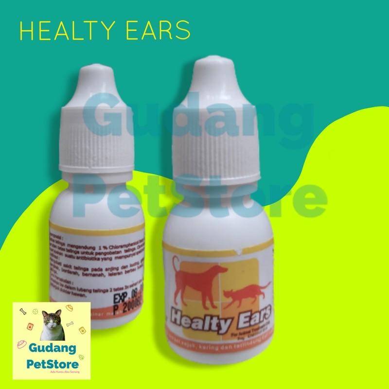 Obat Tetes Telinga Healthy Ears Kucing Anjing Shopee Indonesia