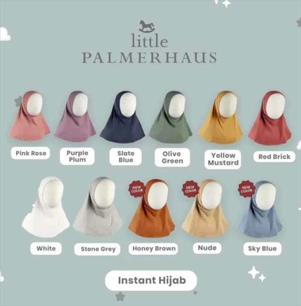 Little Palmerhaus Instant Hijab Haifa Size XS - Mustard