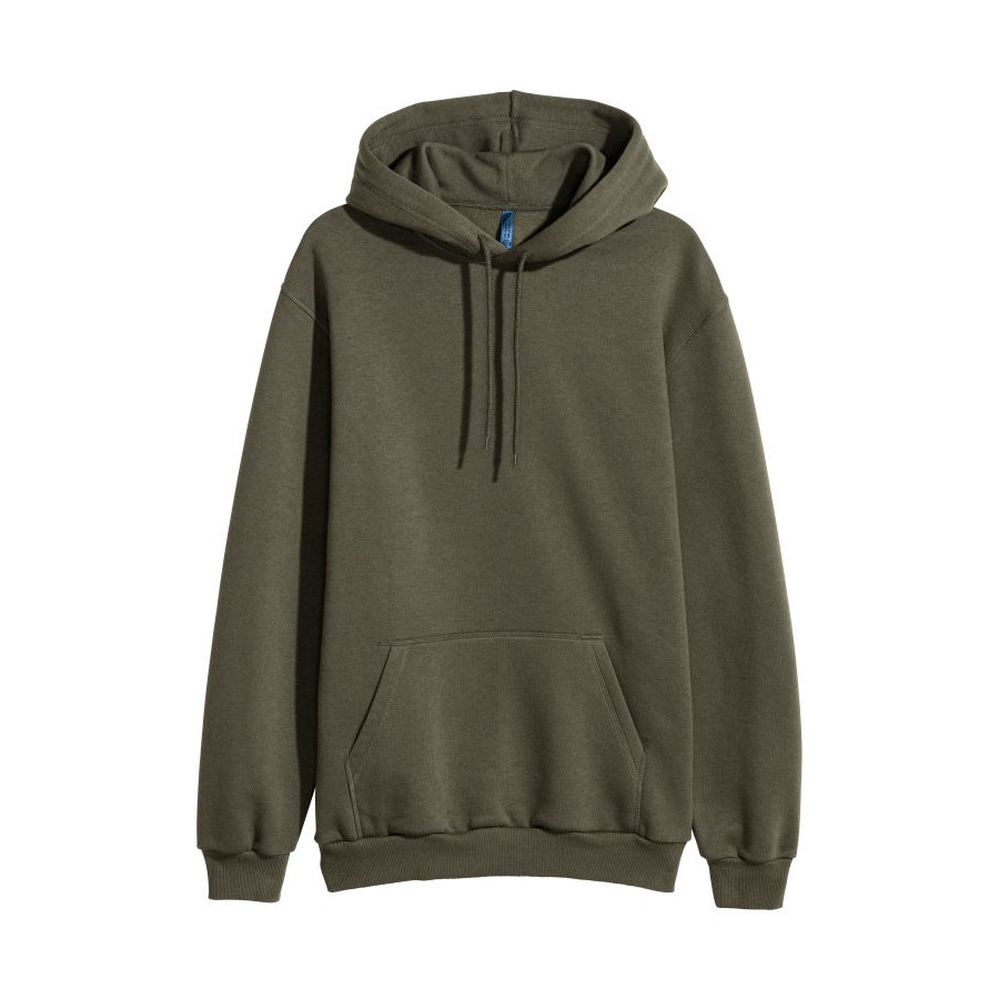 Sweater Hoodie Plain Original H M